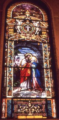Jesus and Mary, photo by Wm. Gorski