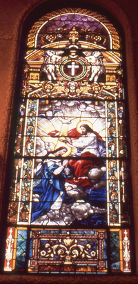 Coronation of Our Lady, photo by Wm. Gorski