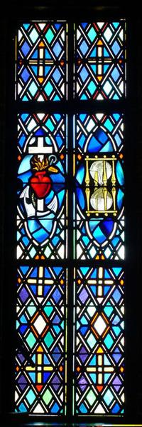 Sacred Heart and Hourglass