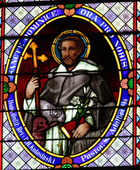 St. Dominic close-up