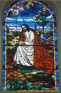 Agony in Gethsemane close-up
