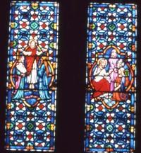 Transfiguration; Jesus, Mary, and Martha