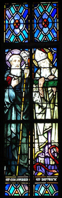 St. Columban and St. Patrick