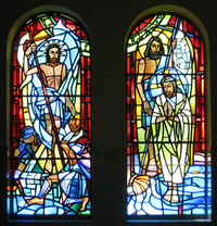 Baptism and Resurrection Windows