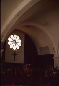 Rose Window - Front of Sanctuary