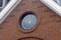 Rose Window - Over Door