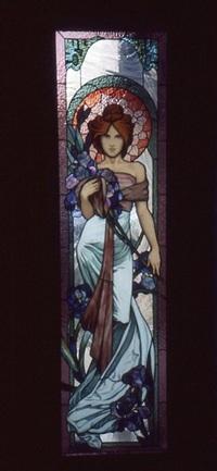 Lady in Art Nouveau Style