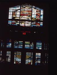 Abstract, Doors and Balcony Window