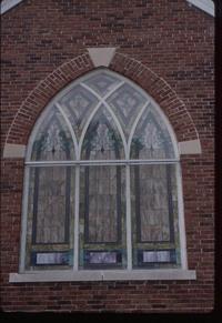 Ornamental, Three lancet arch - exterior