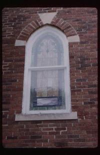 Ornamental, short arch - exterior