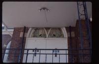 Ornamental, over door - exterior
