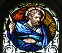 St. Luke the Evangelist close-up