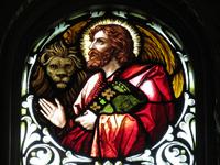 St. Mark the Evangelist close-up