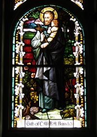 St. Vincent de Paul close-up