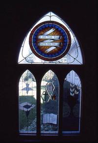 Old Rose Window; Sacraments