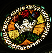 Radiant Crown medallion