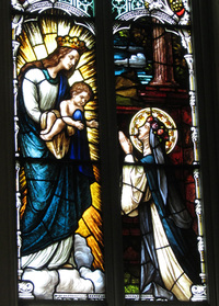 St. Rose of Lima close-up