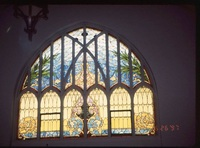 Arched windows, side