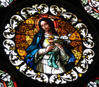 Immaculate Heart of Mary close-up