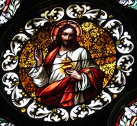 Sacred Heart of Jesus close-up