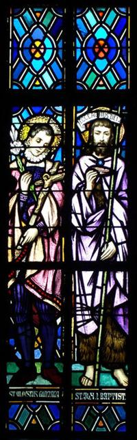 St. Aloysius Gonzaga and St. John the Baptist