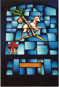 Beatitude/Gift of the Holy Spirit, middle