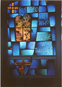 Beatitude/Gift of the Holy Spirit, left