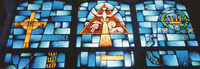 Beatitude/Gift of the Holy Spirit, close-up
