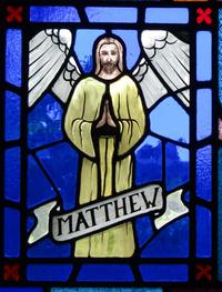 Matthew the Evangelist close-up