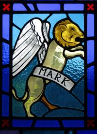 Mark the Evangelist close-up