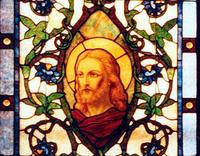 Hoffman's Head of Christ close-up
