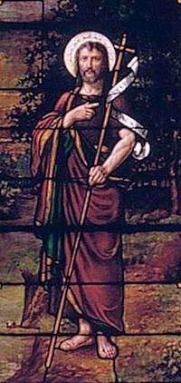 St. John the Baptizer close-up