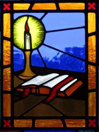 Book of Gospels close-up