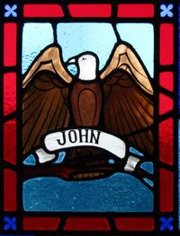 John the Evangelist close-up