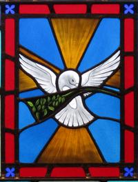 Peace close-up