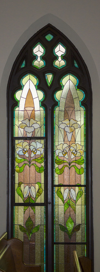 Resurrection Lily Windows