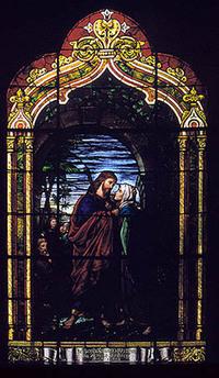 Christ Bidding Farewell to His Mother