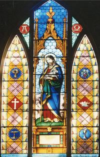 Christ Holding a Lamb close-up