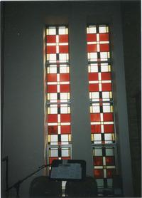 Choir Loft Windows, left and right
