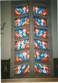 Choir Loft Windows, center