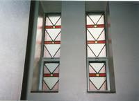 Choir Loft Windows, stairs