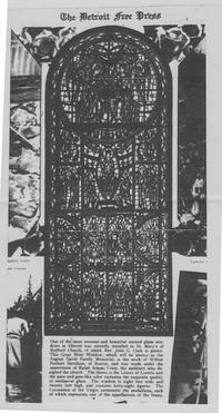Detroit Free Press article, April 27, 1927