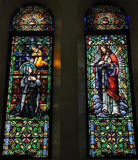 Margaret Alacoque's Vision of the Sacred Heart, photo by Robert J. Scott