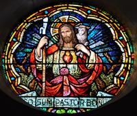 Good Shepherd with Sacred Heart, photo by Robert J. Scott