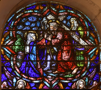 Mary Meets Christ Carrying Cross