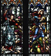 Christ Throwing the Money Changers Out of the Temple