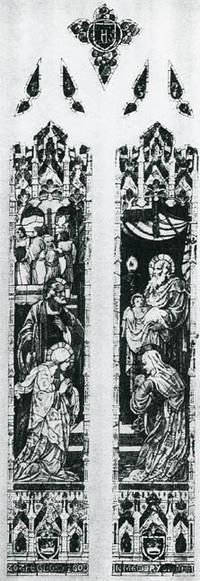 Christ's Presentation in Temple, sketch