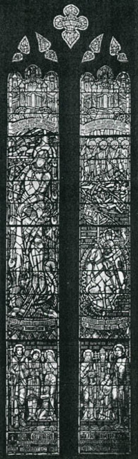 Church Militants and Martyrs, sketch