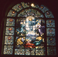 The Transfiguration of Christ, close-up