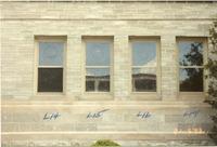 Sacristy Windows, exterior